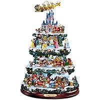 The Bradford Exchange - Centrotavola Disney a forma di albero di (Bradford Albero Di Natale)