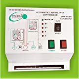 imagine technologies Automatic Water Level Controller for Submersible Start and Stop Button Type Starter Panel (White)
