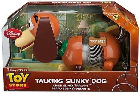 (NEW Disney TALKING Pull String Toy Story Slinky Dog - Woody, Buzz, Jessie Friend by Disney)