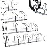 Best Bike Rack Parkings - Fineway. Durable Floor Bike Rack or Wall Mounted Review