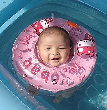 Infant Schwimmen Schwimmring Aufblasbar Ring-sicherheit, Gzqes, Sitz Aufblasbar Pool Schwimmen Ring Für Bebe, Rosa 1