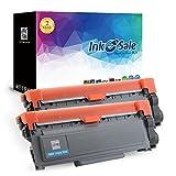 INK E-SALE 2x Kompatible Tonerkartuschen zu Brother TN-2320 für Brother HL-L2300D, HL-L2340DW, HL-L2360DN, HL-L2365DW, DCP-L2500D, DCP-L2520DW, DCP-L2540DN, DCP-L2560DW, MFC-L2700DN, MFC-L2700DW, MFC-L2720DW, MFC-L2740DW Drucker, schwarz ca. 2.600 Seiten