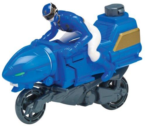 Power Rangers Megaforce Zord Cycle mit blauem Ranger [UK Import] (Ranger Blau Power Megaforce)