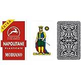 Napoletane 97/25 Modiano régionaux italiens cartes à jouer. Authentique pont italien.