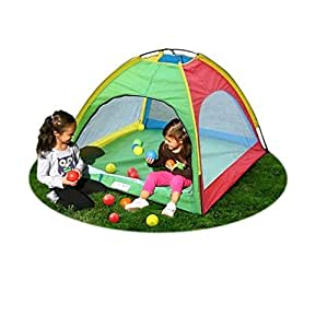 ball pit playhouse spielzelt kids play tent kinderzelt. Black Bedroom Furniture Sets. Home Design Ideas