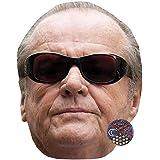 Celebrity Cutouts Jack Nicholson Celebrity Mask, Card Face And Fancy Dress Mask