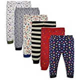 #4: Minicult Cotton Baby Pajama Pants unisex with Rib