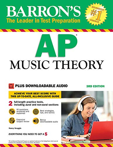 Barron's AP Music Theory: with Downloadable Audio Files (Ap-audio)