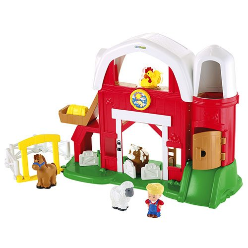 Mattel Fisher-Price Y8661 - Little People Tierstimmen Bauernhof (Bauernhof Little People)