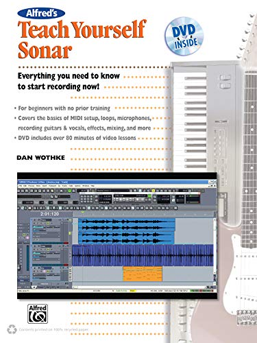 Alfred's Teach Yourself Sonar: Book & DVD Sonar Dvd