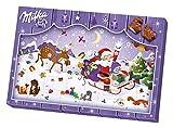Image of Milka Adventskalender Weihnachten sortiert, 1er Pack (1 x 200 g)