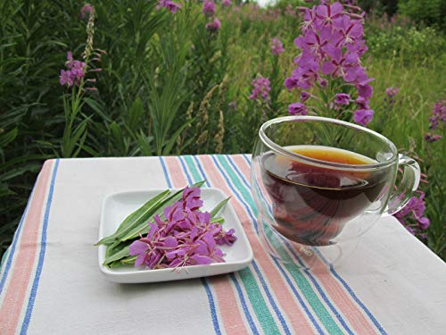 50g Willow herb Tea/Ivan Tea - Crop 2019 / Fermented Green Tea/Slimming Tea/Schmalblaettriges Weidenroeschen fermentiert/Epilobium angustifolium / -