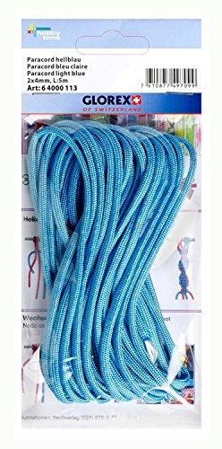 GLOREX 6 4000 113 Paracord - Juguete, Color Azul