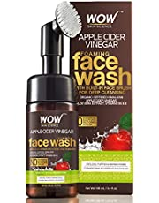 WOW Apple Cider Vinegar Foaming Face Wash No Parabens Sulp