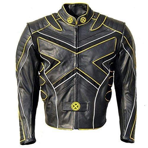 X Men Wolverine Motorbike Leather Jacket Hugh Jackman Wolverine Leather Jacket