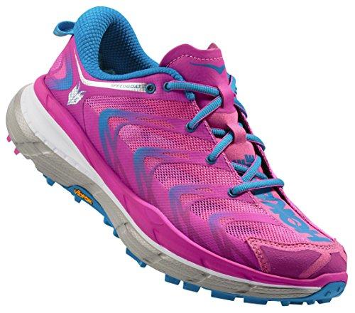 HOKA ONE ONE SPEEDGOAT BLEUE CIEL Chaussures de trail femme multicolore