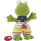 sigikid, Mädchen und Jungen, Schnuffeltuch Frosch, Fortis Frog, 48934