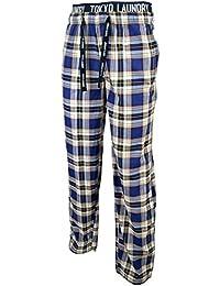 Tokyo Laundry Homme 'Clissold' Bas de pyjama Plaid