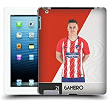 Official Atletico Madrid Kevin Gameiro 2017/18 First Team Group 1 Hard Back Case for iPad 3 / iPad 4