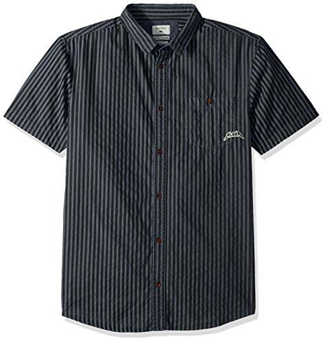 Quiksilver Brosipe Woven Shirt für Herren, Small, Vintindigofbro (Quiksilver Herren Shirt Woven)