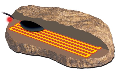 Exo Terra Heat Wave Rock, elektronischer Wärmestein klein, 5 Watt - 4