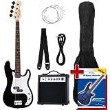 Rocktile Groovers Pack Bajo eléctrico PB negro
