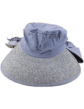 La Sra Ocio Salvaje Verano Protección UV Sombrero Del Sol Plegable Sombrero De Vacaciones