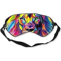 Natural Silk Eyes Mask Sleep Wonderful Graffiti Tiger Blindfold Eyeshade with Adjustable for Travel,Nap,Meditation... preisvergleich bei billige-tabletten.eu