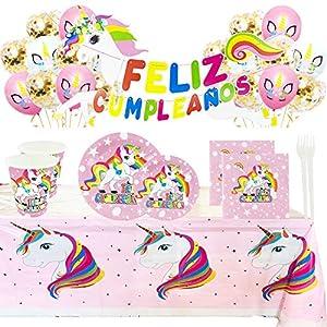 Fiesta Cotigo Vajilla Desechable Cumpleaños