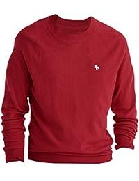 Abercrombie - Homme - Wool-Blend Slim Fit Sweater Pull Sweatshirt - Manche Longue