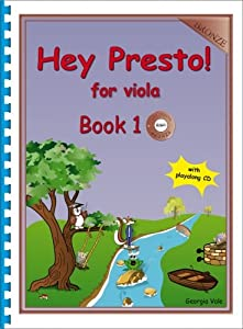 Vale: Hey Presto! for Viola Book 1 (Bronze) with CD