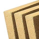V2-20-3x - Vermiculite Platte - Schamotte Ersatz für Kaminöfen - Stärke: 20 mm - Maße: 400 x 600 mm - 3 Stück