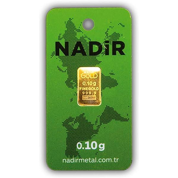 Nadir Goldbarren 0 10 Gramm Feingehalt 999 9 Gold Barren 0 1g 0 10g Nadir Lbma Zertif Neu Amazon De Elektronik Foto