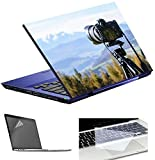 Imagination Era Nature Photography with Camera Laptop Skin Decal with Screen Protector & Keyboard Skin -15.6 inch All Type Laptop.