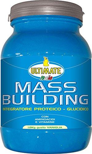 Ultimate Italia Mass B Building Gainer, Vaniglia - 1800 gr