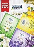 Odonil Air Freshener Zipper, 10g (Pack of 3)