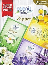 Odonil Air Freshener Zipper (Pack of 3)