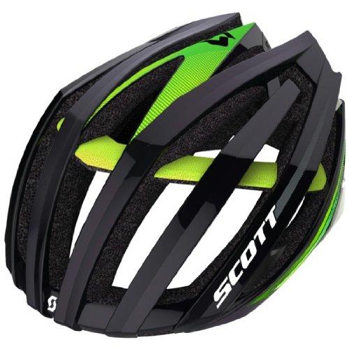 Scott Erwachsene Helm Vanish EVO CE, Black/Green, L, (Erwachsenen City Suchen)