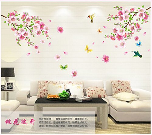 wallpicture-art-pink-plum-blossom-flower-bird-decal-mural-art-wall-sticker-for-home-room-decoration-