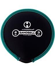 Hyperwear SandBell saco de arena Formación libre peso (precargada) 6libras