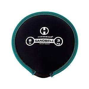 Hyperwear Sandbell Sandsack Training frei Gewicht (,) 6Pfund