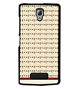 PrintDhaba Pattern D-1534 Back Case Cover for LENOVO A2010 (Multi-Coloured)