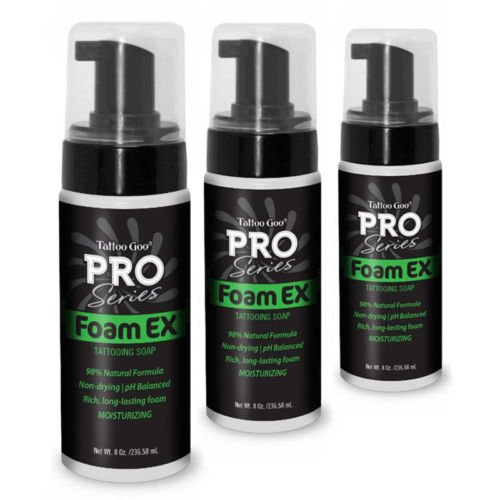 Tattoo Goo Pro Series FX espuma jabón 8oz/236 ml