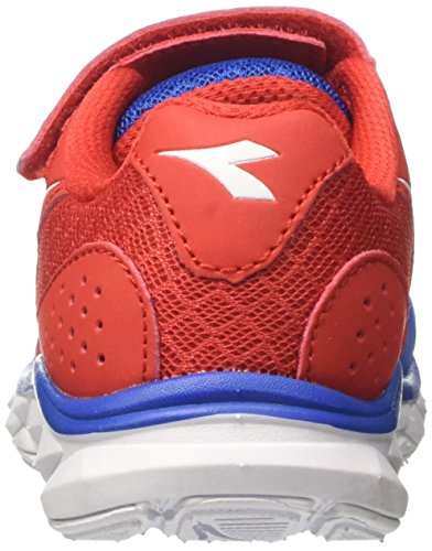 Diadora Unisex-Kinder Hawk 7 Jr Laufschuhe Blau (Azzurro/rosso)