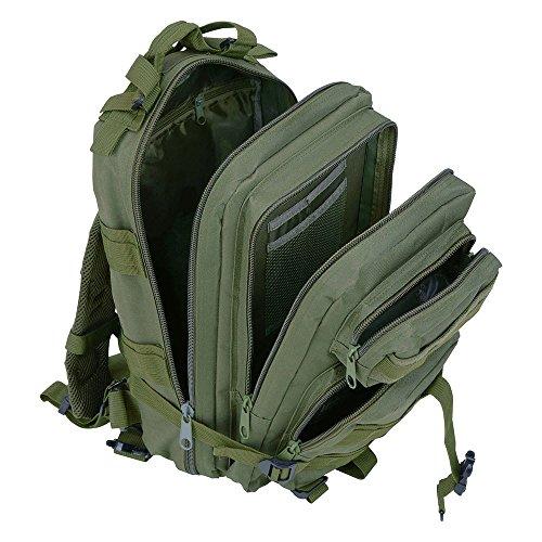 KT 30L Tactical Wander Trekking Rucksack Wandern Military Rucksack Herren Rucksack Tasche. Grün