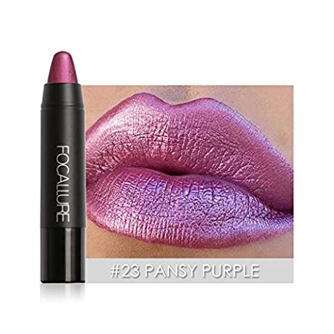 Maquillage des lèvres, Malloom® FOCALLURE Manteau à lèvres mat à l'épreuve de l'eau 8 couleurs au choix(23#)