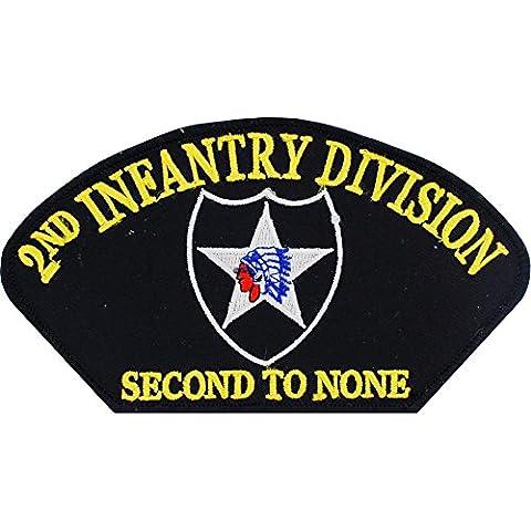 Esercito degli Stati Uniti FindingKing 2Nd Divisione di Fanteria cappello Patch 6,99 cm