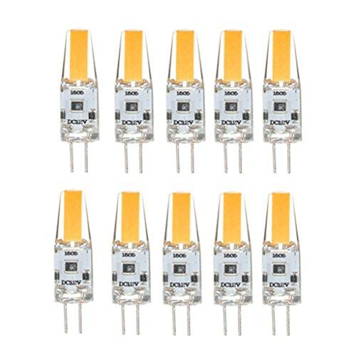 HBR Ampoule 10x G4 LED G2 LED 200-250LM 3W 12V G4 10x G4 LED Downlight Ampoule avec Une Nouvelle Technologie