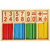 Beetest Materiel Montessori, Materiel Montessori Bébé Jouet Mathématique Mathématique Jouet Enfants Jouet Éducatif Pour Enfants Nombre Comptage Apprentissage