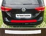 passgenau für VW Touran, ab 2015, Lackschutzfolie Ladekantenschutz transparent